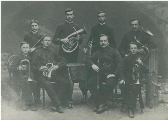 Gründungsmanschaft anno 1871