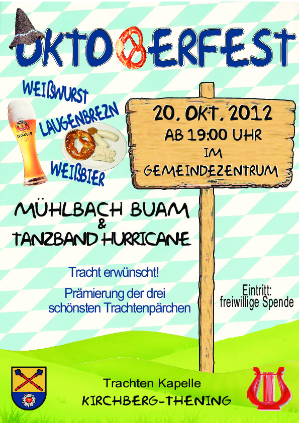 Oktoberfest 2012 in Kirchberg-Thening